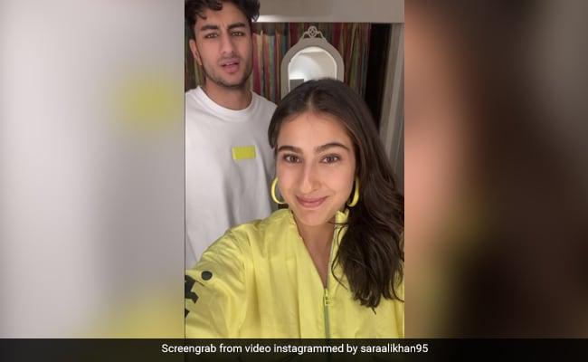 'Knock-Knock': Sara Ali Khan Is Back With Her Jokes, Ibrahim Ali Khan Is Still Not A Fan