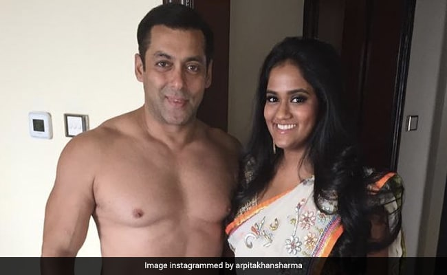 'Fond Memories' Of Salman Khan And Sister Arpita Khan Sharma From Her Wedding