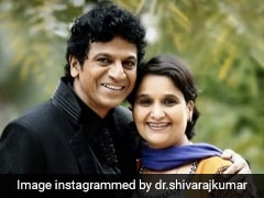 Actor Shivarajkumar Meets DK Shivakumar Amid Talks Of Wife Joining Congress