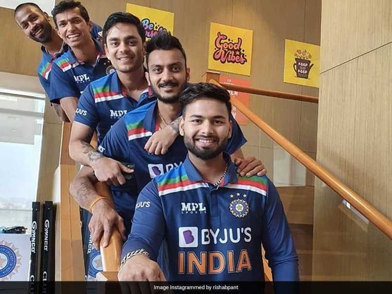 India vs England: Rishabh Pant All Smiles With Teammates In Latest Pic Ahead Of T20I Series