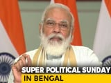 Video : PM In Bengal Today, Likely To Share Stage With Actor Mithun Chakraborty