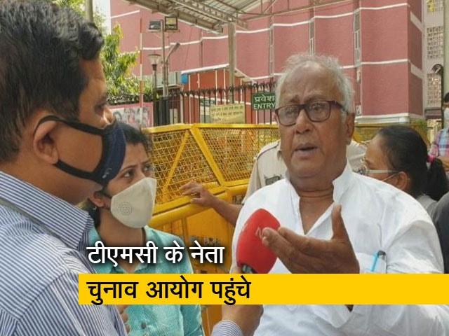 Videos : ममता बनर्जी पर हुए हमले के मामले में TMC का प्रतिनिधिमंडल पहुंचा चुनाव आयोग
