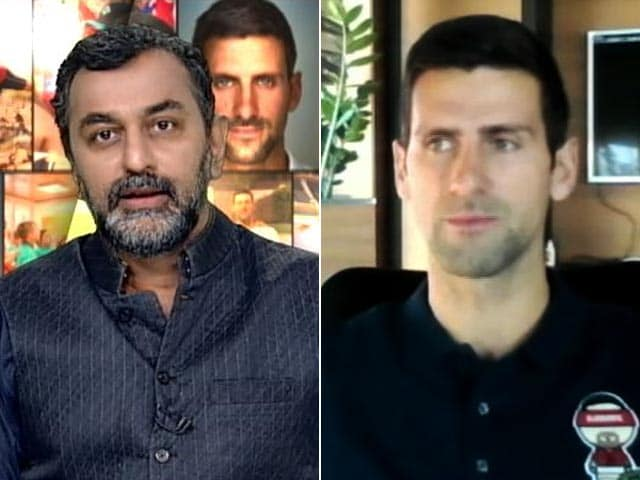 Video : Novak Djokovic Hopes To Work With Leander Paes On Indian Tennis In Future