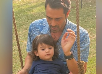 Watch: Arjun Rampal's 2-Year-Old Son Makes Banana Smoothie With Mother