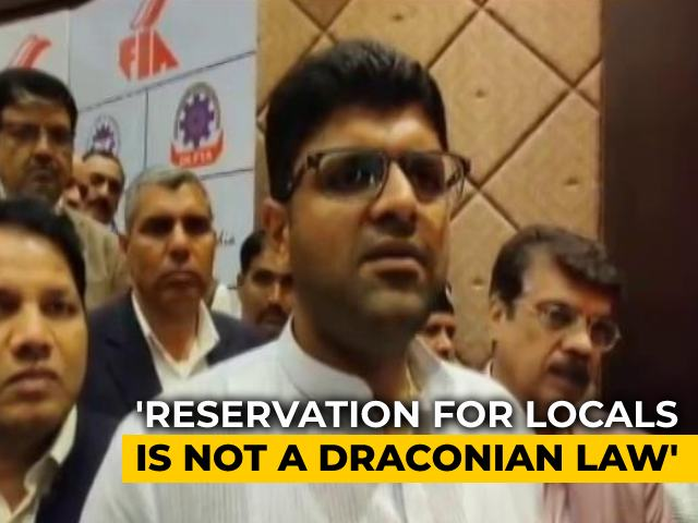 Video : Haryana Governor Approves Bill To Reserve 75 Per Cent Jobs In Private Sector For Locals