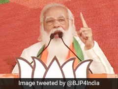 """What If <i>Didi's</i> Scooty Falls In Nandigram"": PM Targets Mamata Banerjee"