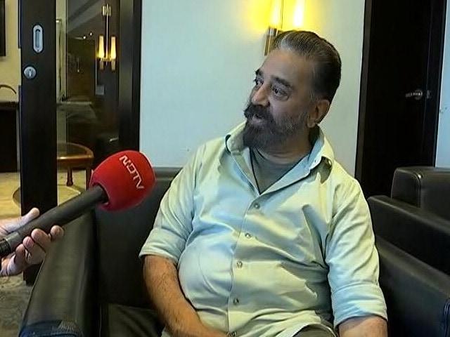 "Video : Kamal Haasan On ""Friendship"" With DMK Chief MK Stalin"