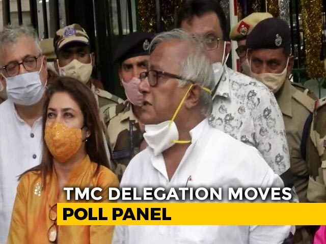 "Video : Trinamool Delegation Meets Poll Panel, Demands Probe Into ""Attack"" On Mamata Banerjee"