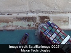 3.5 Days To Clear Suez Canal Traffic Jam Once Ship Refloated: Authorities