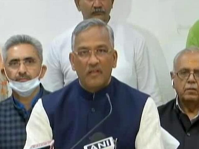Video : Uttarakhand Chief Minister Removed By BJP High Command, Other Top Stories