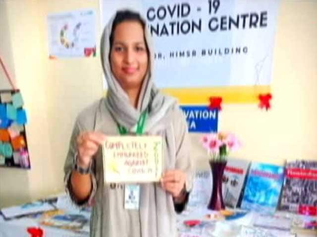 Video : First Transgender Person To Head Anti-Covid Vaccine Centre In India