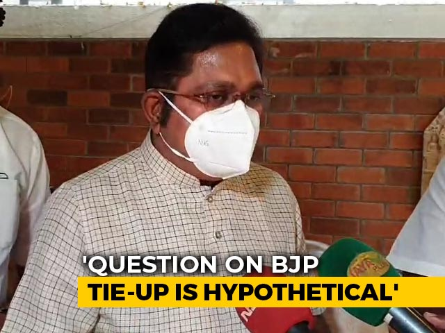 "Video : ""No Tacit Help To AIADMK Or BJP"", Says TTV Dhinkaran On New Alliance"