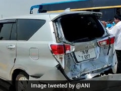 Cars Of Tamil Nadu Speaker, State Minister Collide On Way To PM Modi's Rally
