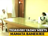 Video : Tejashwi Yadav Meets Mamata Banerjee, Says Congress Ally Only In Bihar