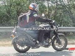 Retro-Styled Yamaha XSR 250 Prototype Spied Testing In India