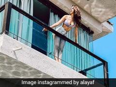 All That Alaya Furniturewala's Summery Bikini And Shorts Need Is Suntan Lotion