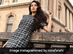 Nora Fatehi Raises The Style Bar High In The Streets Of Paris