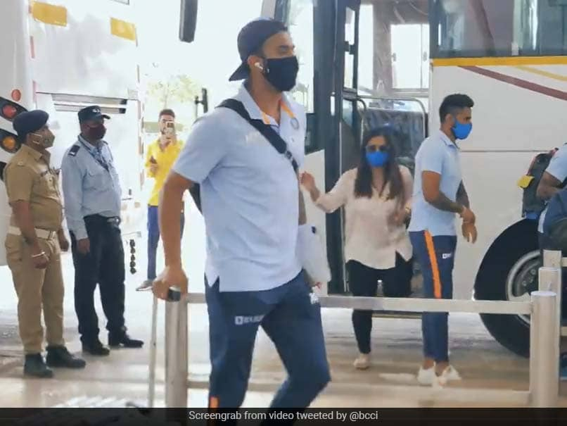 India vs England: Team India Arrive In Pune For ODI Series Against England. Watch