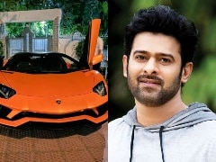 Baahubali Star Prabhas Brings Home The Lamborghini Aventador S Roadster