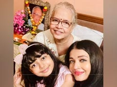 "On Krishnaraj Rai's Death Anniversary, Aishwarya And Aaradhya Bachchan's Message: ""Love You Eternally"""