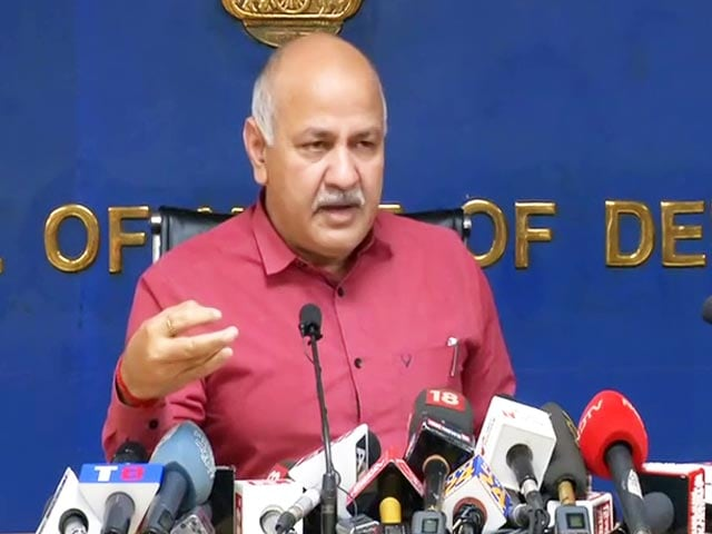 """Video : """"PM Wants To Stop Arvind Kejriwal At Any Cost"""": Manish Sisodia On Bill"""