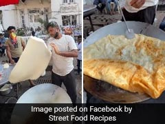Viral Video: Have You Seen Mumbai's Biggest Halva Paratha That Has Stunned The Internet?