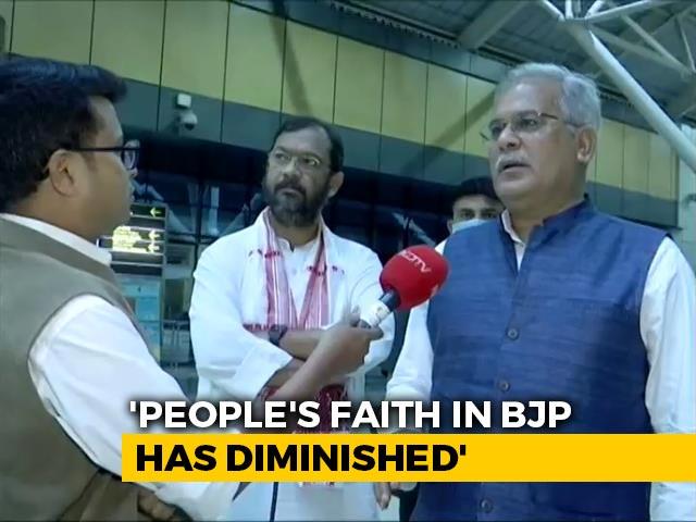 Video : Congress's Bhupesh Baghel On Chhattisgarh Model's Link To Assam Polls