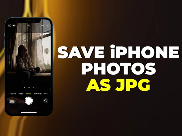 Video : How To Save iPhone Photos As JPG: A Quick Fix That Stops Your iPhone From Storing Photos In HEIC