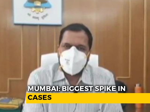 Video: 5,185 New Covid-19 Cases, 6 Deaths In 24 Hours In Mumbai