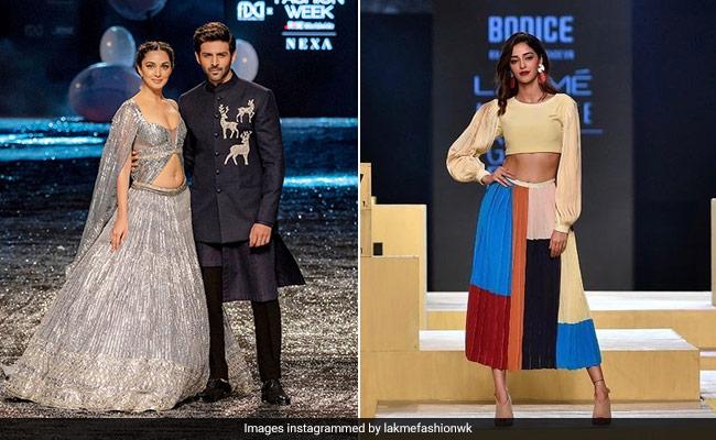 Ananya Panday To Kiara Advani: Celebs Who Walked The Ramp At Lakme Fashion Week