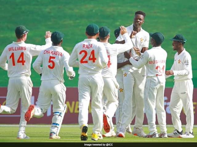 1st Test, Day 1 : Muzarabani, Williams Shine As Zimbabwe Lead Afghanistan