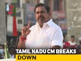 "Video : Tamil Nadu's EPS Chokes Up Over DMK Leaders Taunt: ""People Will Punish"""