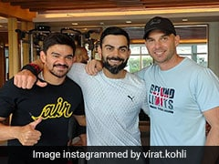 """Boys Make Life Difficult In Gym, But..."": Virat Kohli Shares Pic With Team India's Strength And Conditioning Coaches"