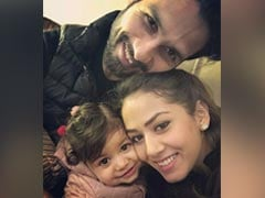 """""""It's Always Valentine's Day For Papa"""": Shahid Kapoor's Daughter Misha Bakes Cake. See Mira Rajput's Post"""