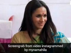 मेगन मार्कल का थ्रोबैक Video हुआ वायरल, भारत में साड़ी और बिंदी में आई थीं नजर
