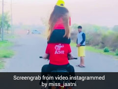 Two Women Fined Rs 28,000 For Performing Stunts On Bike. Their Video Is Viral