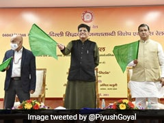 Piyush Goyal Flags Off Siddhabali Jan Shatabdi Express Special Train