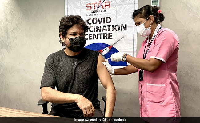 What Nagarjuna Posted After Getting His First COVID Vaccine Shot