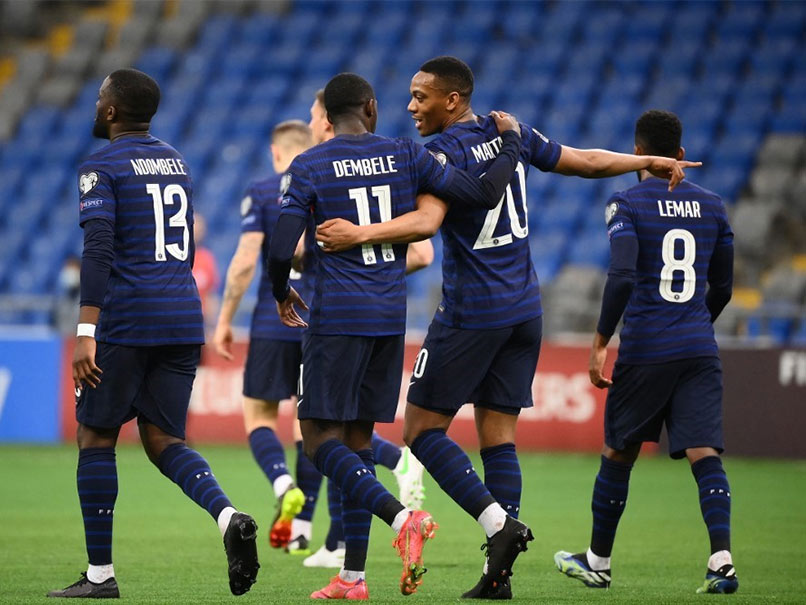 World Cup Qualifiers: Ousmane Dembele Scores, Kylian Mbappe Misses Penalty As France Beat Kazakhstan