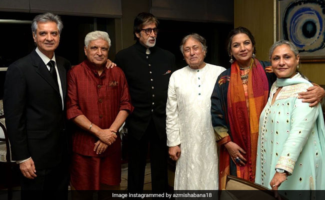 Why No Masks In This Pic Of Amitabh-Jaya Bachchan And Other Stars? Shabana Azmi Explains