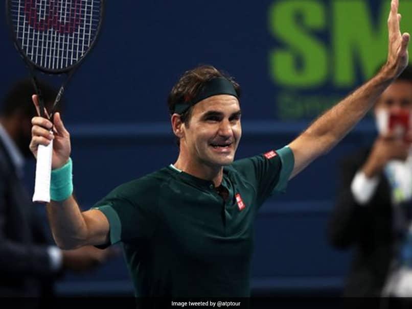 Qatar Open: Roger Federer Makes Winning Return To The Court, Beats Dan Evans 7-6, 3-6, 7-5