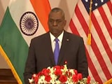 "Video : ""Never Considered India-China Were On Verge Of War"": US Secretary Of Defence"