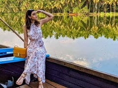 Diana Penty Enjoyed This View On Her Boat Ride In Kerala. Pic Here