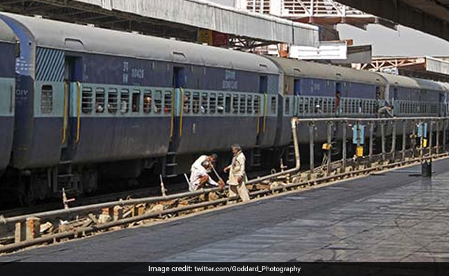 Man Attaches Toilet Pipeline To Drinking Water Tank At Madhya Pradesh Railway Station