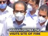 """Video : """"I Ask For Forgiveness"""": Uddhav Thackeray On Mumbai Hospital Fire Deaths"""