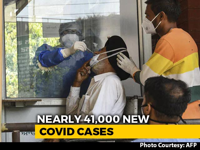 Video : 40,953 Fresh Cases In India, Highest Single-Day Rise In Nearly 4 Months
