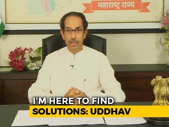 "Video : ""Can't Rule Out Lockdown"": Uddhav Thackeray On Maharashtra Covid Surge"