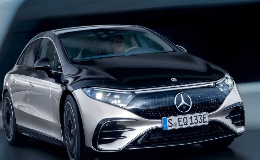 The Mercedes-Benz EQS is likely to go on sale later this year.