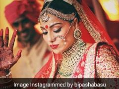 Bipasha Basu's Wedding Anniversary: A Look At Her Sabyasachi Bridal Lehenga