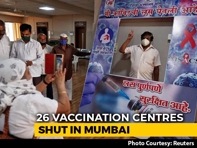 Video : 26 Mumbai Vaccine Centres Shut, Maharashtra Flags After Centre's Charge